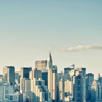 New York City / Manhattan Skyline Midtown by Thomas Schaefer