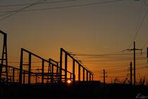 substation on sunset by Benjamin Rullert