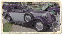 Oldtimer als Postkarte by photodesign-kerstin-esser