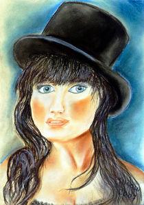 Mädchenportrait by Irina Usova