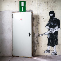 adidas and kalashnikov. emergency exit. by Ralf Ketterlinus