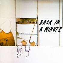 back in a minute by Ralf Ketterlinus
