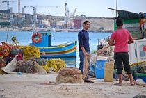 fishermen at work... by loewenherz-artwork