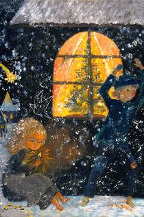 Andersen Märchen:das kleine Mädchen mit den Schwefelhölzern von Amina-Marei Jäger