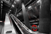 Underground Escalator von David Pyatt