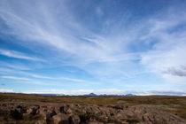 iceland blue sky #3 by Barbara Perfahl