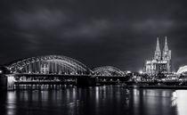 Köln bei Nacht von Denis Wieczorek