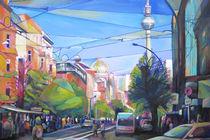 Oranienburger Straße von Renée König