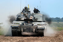 British Army Challenger 2  Main Battle Tank (MBT)  by Andrew Harker