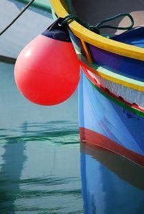 fisherboats in Marsaxlokk... 6 by loewenherz-artwork