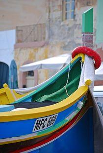 fisherboats in Marsaxlokk, Malta... 9 by loewenherz-artwork