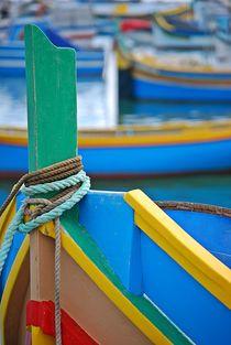 fisherboats in Marsaxlokk, Malta... 7 by loewenherz-artwork