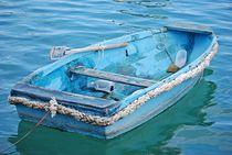fisherboats in Marsaxlokk... 5 by loewenherz-artwork