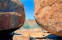 Devil Marbles Australien von Michael Blahout