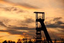 Zechenturm im Sonnenuntergang von Michael Blahout