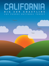 California (Big Sur Coastline) by Jon Briggs | dzynwrld