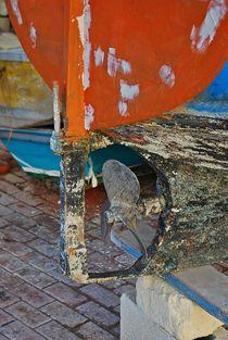 details of a Maltese fisherboat... 1 von loewenherz-artwork