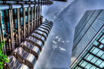 Lloyd's of London and Cheese Grater by David Pyatt