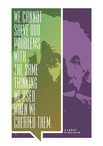 Albert Einstein Quote by Jon Briggs | dzynwrld