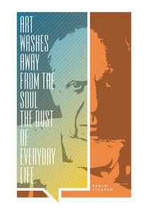 Pablo Picasso Quote by Jon Briggs | dzynwrld