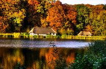 Fischerhaus am See von Helge Lehmann
