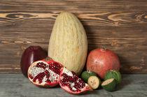 Still life with fruit von Alexander Kurlovich
