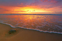 Sonnenuntergang auf Sylt von Stefan Mosert