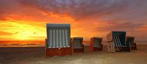 Strandkorb Panorama Sylt von Stefan Mosert
