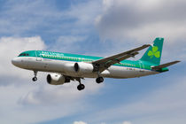 Aer Lingus Airbus A320 by David Pyatt