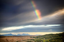 Toskana mit Regenbogen / rainbow at Tuscany by Thomas Schaefer