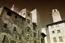 San Gimignano Toskana Italien / italian Tuscany by Thomas Schaefer