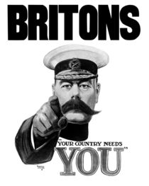 Britons Your Country Needs You - Lord Kitchener von warishellstore