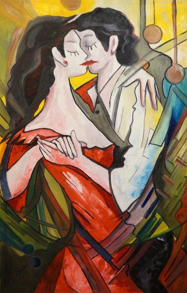 Tango-100x155cm-oil-on-canvas