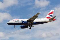 British Airways Airbus A319  by David Pyatt