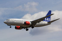 Scandinavian Airlines Boeing 737 von David Pyatt