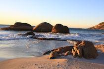 Naturstrand an der südafrikanischen Küste von mellieha