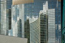 Spiegelfassade am Las Vegas Strip von Christian Hallweger