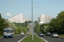 Platte in Chisinau, der Hauptstadt Moldawiens von Christian Hallweger