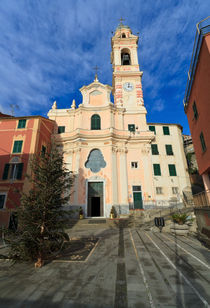Liguria - church in Sori von Antonio Scarpi