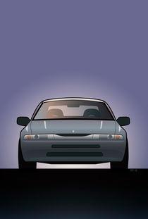 Modern Japanese Icons Subaru Alcyone SVX von monkeycrisisonmars