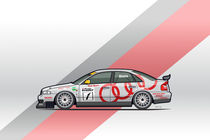 Audi Sport A4 Quattro B5 BTCC Super Touring Car by monkeycrisisonmars