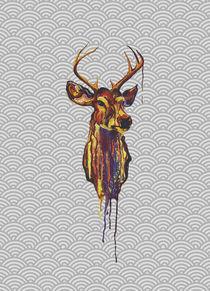 Deer Head III by Edward Lucas