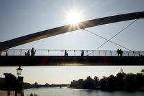 The Hoge brug, pedestrian and cycle bridge  by Perry  van Munster