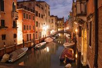 Venedig bei Nacht by Christian Hallweger