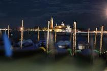 Venezianische Gondeln by Christian Hallweger