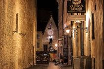 In Tallinns engen Gassen von Christian Hallweger
