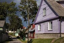 Dorf am Peipus-See Estland von Christian Hallweger