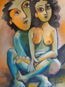 Das Mädchen und der Künstler von art-galerie-quici