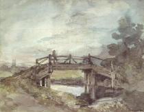 A Bridge over the Stour  von John Constable