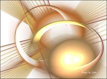 Digital Fraktal kugelig von bilddesign-by-gitta
